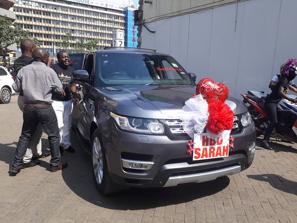 Bonfire Adventures Owner Simon Kabu gifts wife with 20million Ksh Range Rover