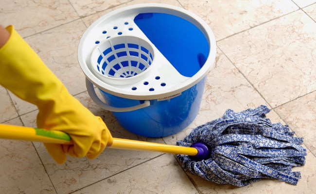 Cleaning fatty Kitchen Utensils and floors