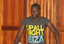 Cyprian Nyakund in Court Picture