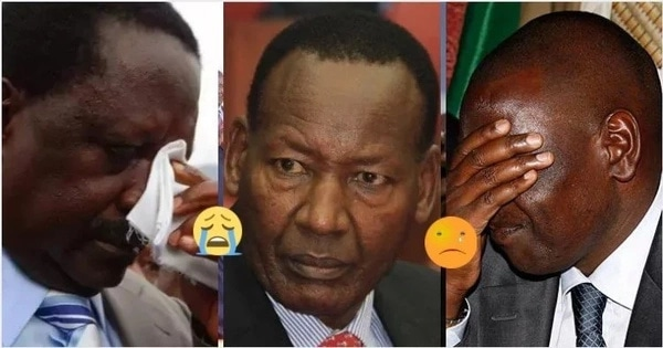 Death of Nkaissery Suspects list
