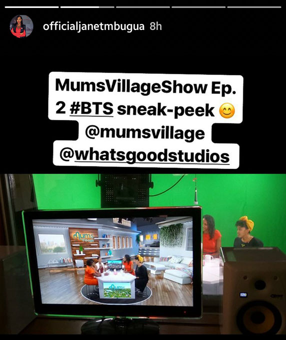 Janet Mbugua returns mums village show