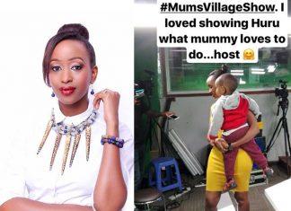 Janet Mbugua returns to TV