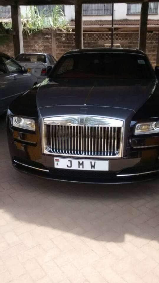 Jimmy Wanjigi Rolls Royce