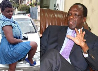 Kakamega Governor Wycliffe Oparanya and daughter Onduso Ambetsa