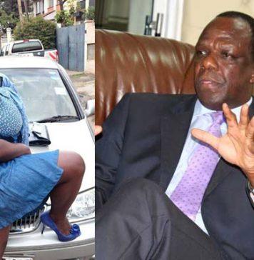 Kakamega Governor Wycliffe Oparanya and daughter Onduso Ambetsa