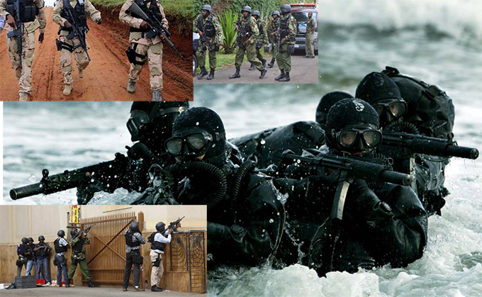 Kenya GSU RECCE officers