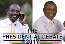 Kimani Ichung'wa and DP William Ruto