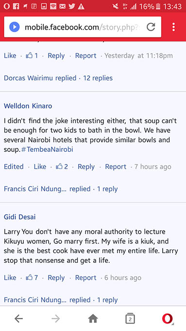 Larry Madowo Badly Attacked For Saying This About Kikuyus pic