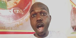 Larry Madowo Eating pic