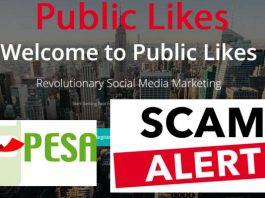 Public likes Scam