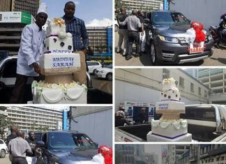 Simon Kabu gifts wife with 20million Ksh Range Rover on her birthday