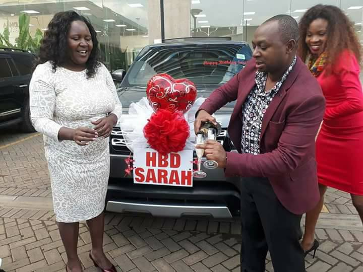 Simon Kabu gifts wife with 20million Ksh car