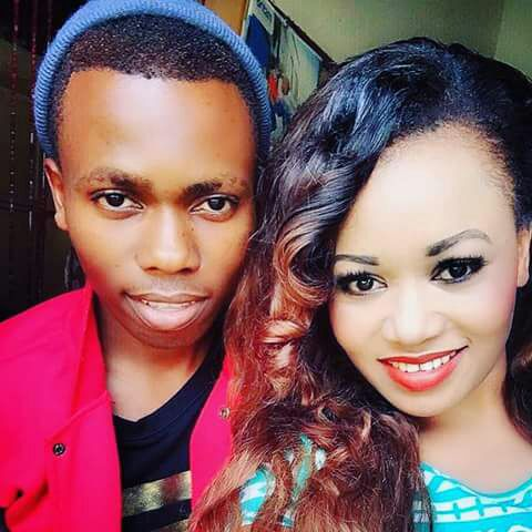 Vera Sidika Brother David Mungasia old picture