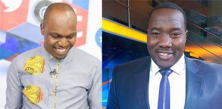 Willis Raburu and Larry Madowo