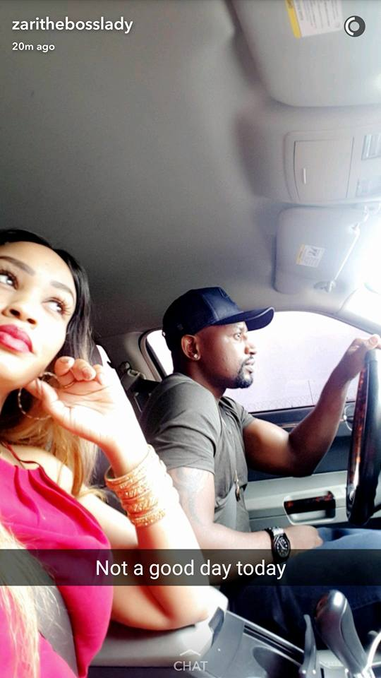 Zari Hassan with another man