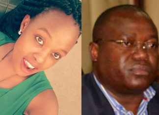 Caro Ngumbu and Chris Msando