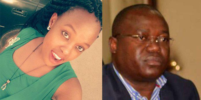 Caro Ngumbu and Chris Msando