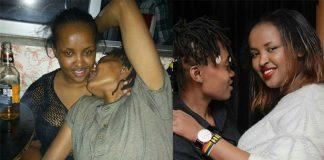 Jasmine Trini and Willy Wambui Vic