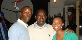 Raila Junior's insanely hot wife that everyone is talking about.