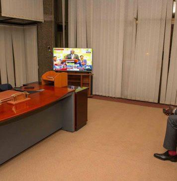 UHURU KENYATTA declared winner in the 2017 presidential election
