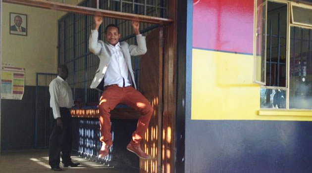BABU OWINO IN POLICE Station