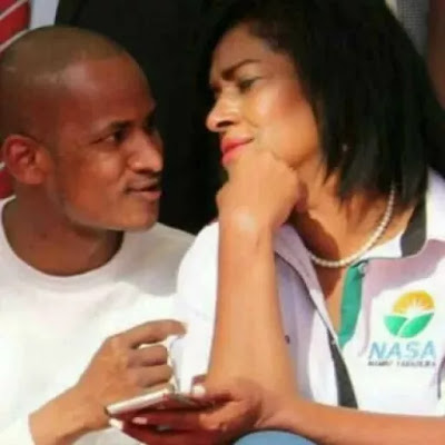 Babu Owino and Esther M Passaris pics