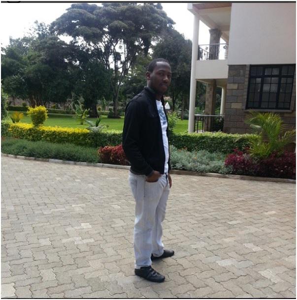 Bungoma Senator Moses Wetangula's son, Alvin,