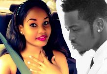 Diamond Platinumz In Bed With Hamisa Mobetto photos
