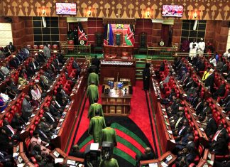 Kenya Parliament Reduces The Publication Period Of The Election Laws Amendment Bill From 14 Days To One Day