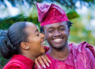 Singer Bahati weds Diana Mwaura