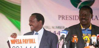 ICC case on Raila Odinga Kalonzo Musyoka