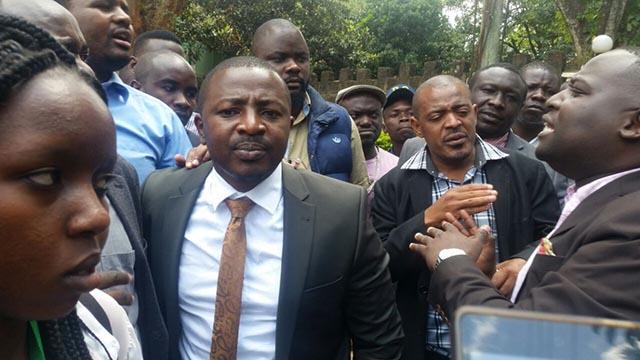 NRM militia seriously attack Citizen TV senior reporter Francis Gachuri
