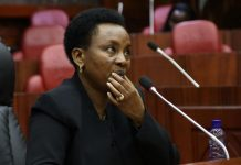 Bodyguard of the Deputy Chief Justice Philomena Mwilu Shot