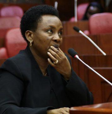 Bodyguard of the Deputy Chief Justice Philomena Mwilu Shot