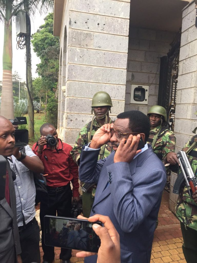 Senior Counsel James Orengo access to Jimmy Wanjigi's house to serve court order