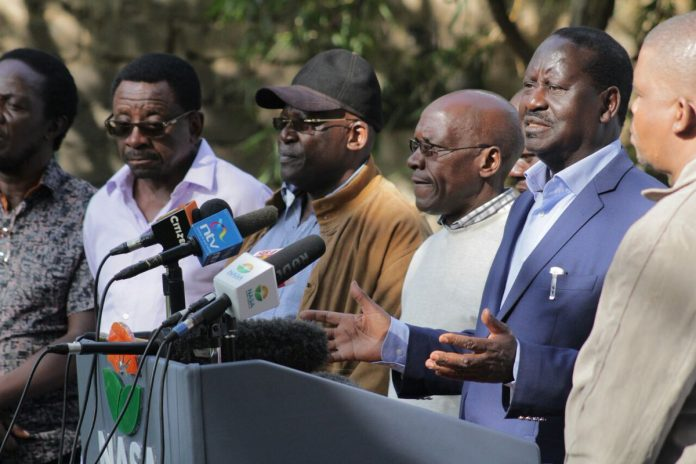Raila Odinga to be sworn in as president on Tuesday