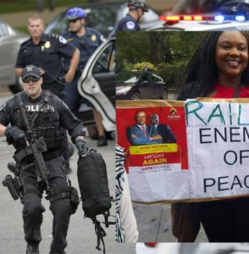 Washington DC police heightened alert as Raila Visits the US