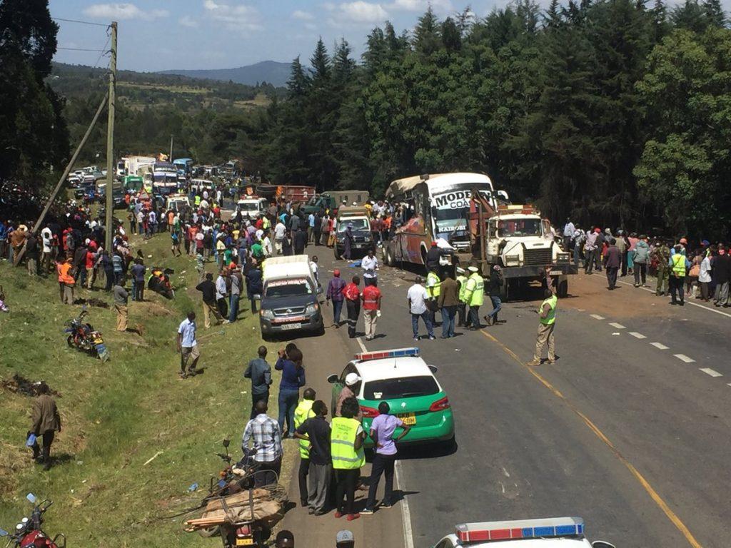 32 Dead in Road Accident Kenya