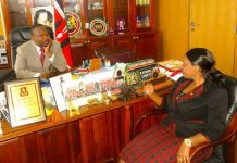 Mike Sonko with Reverend-Natasha