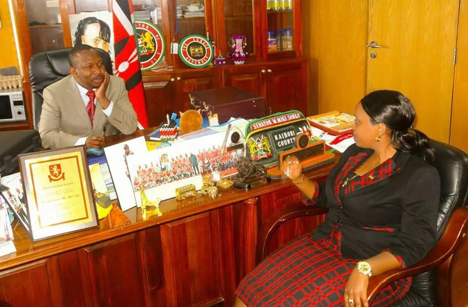 Image result for rev natasha and mike sonko