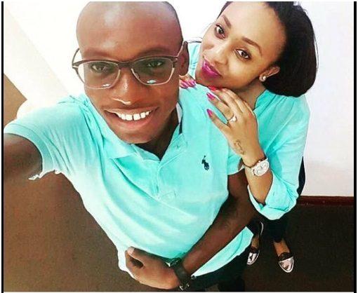 Dr Ofweneke and new catch Diana Mumbe