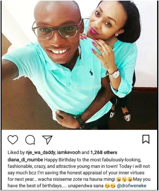 Dr Ofweneke new girlfriend Diana