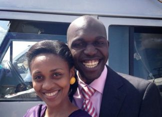 JOY DOREEN and Larry Madowo