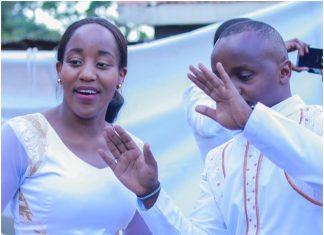 Job Mwaura and Nancy Onyancha wedding