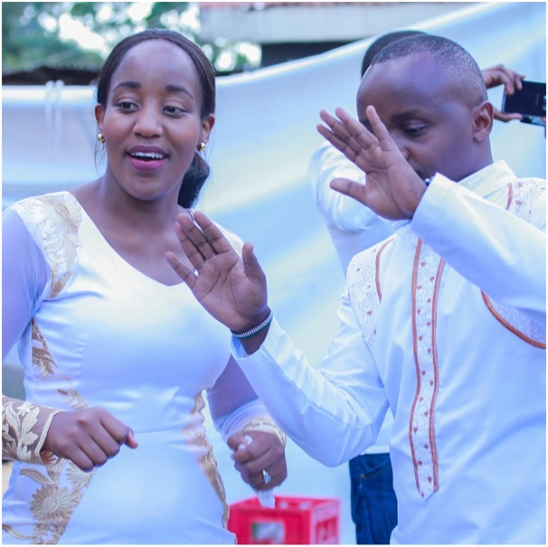 Job Mwaura and Nancy Onyancha wedding