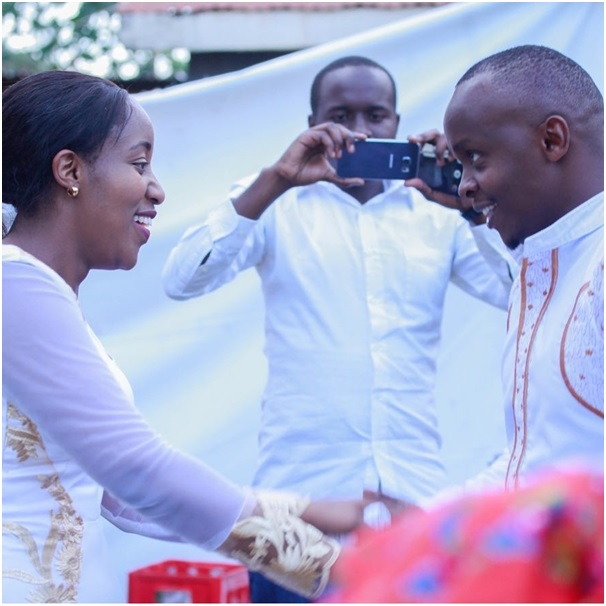 Power couple Job Mwaura and Nancy Onyancha wed