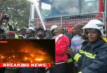 Uhuru and Sonko New Nairobi Fire trucks lack water