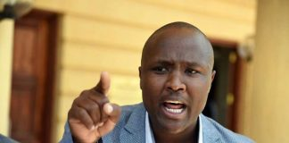 Nandi Hills MP Alfred Keter arrested; the MP is accused of dealing in fake Treasury bills.