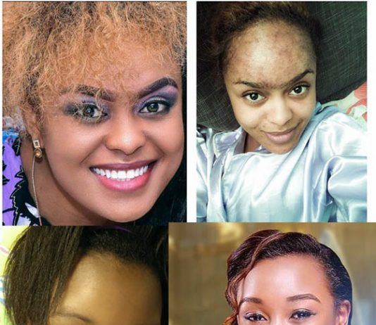 10 Kenyan Female Celebrities Look Without Makeup
