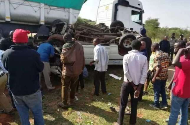 6 dead, scores injured in horrific accident along Mombasa - Nairobi Highway 2018